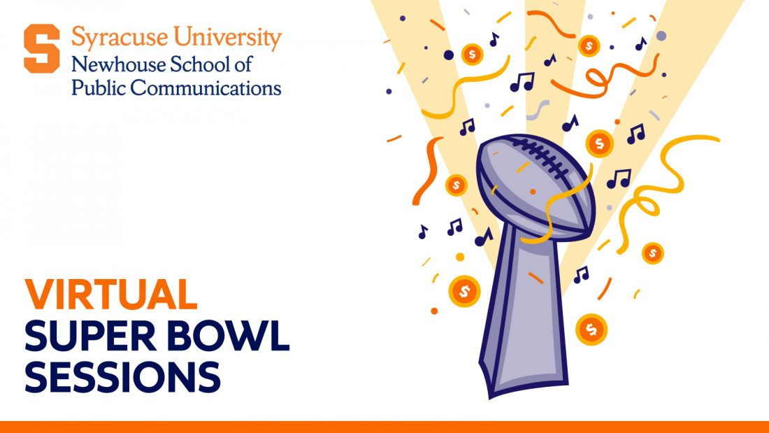 Newhouse super bowl sessions logo