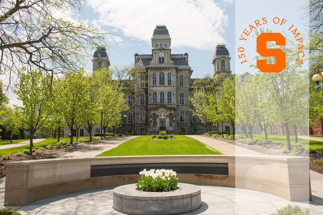 Syracuse University 150th mark