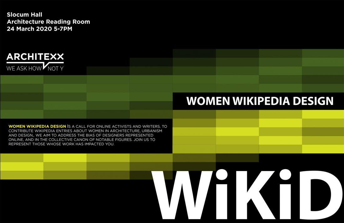 WikiD: Women Wikipedia Design