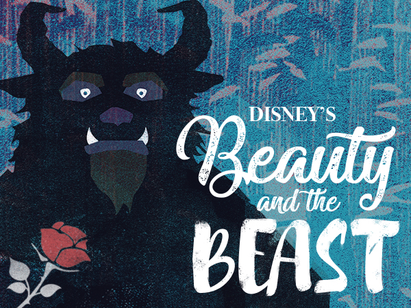Disney's Beauty and the Beast Show Poster