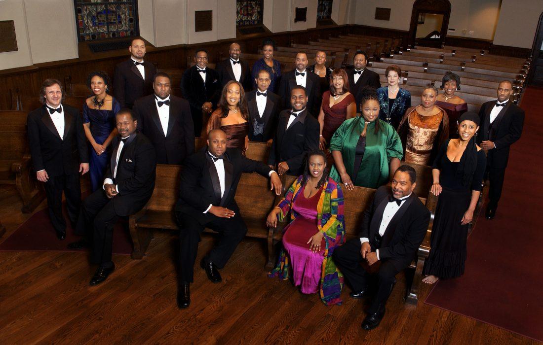 American Spiritual Ensemble press photo