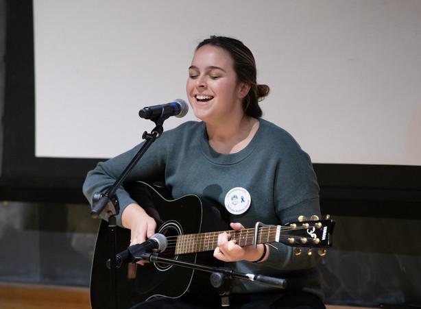 Allison Westbrook, singing