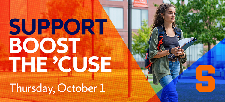 Support Boost the Cuse