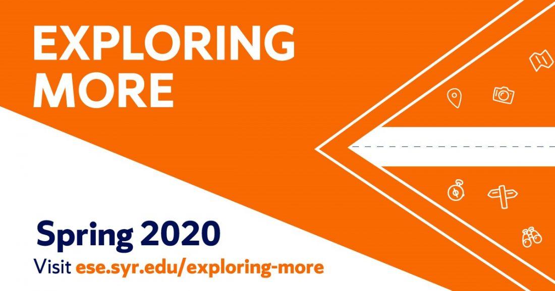 Exploring More Spring 2020
