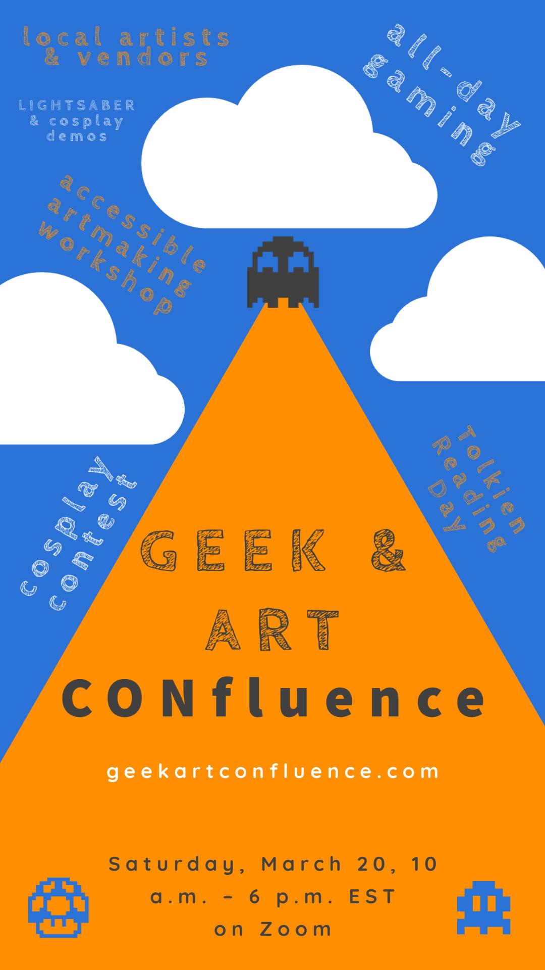 Geek & Art CONfluence Poster