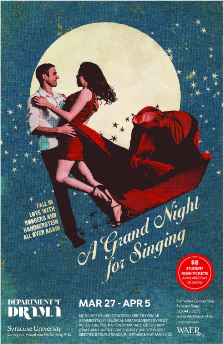A Grand Night poster.