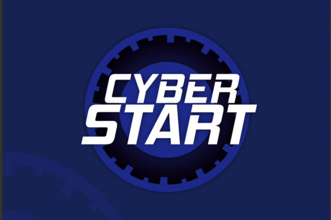 CyberStart video game logo