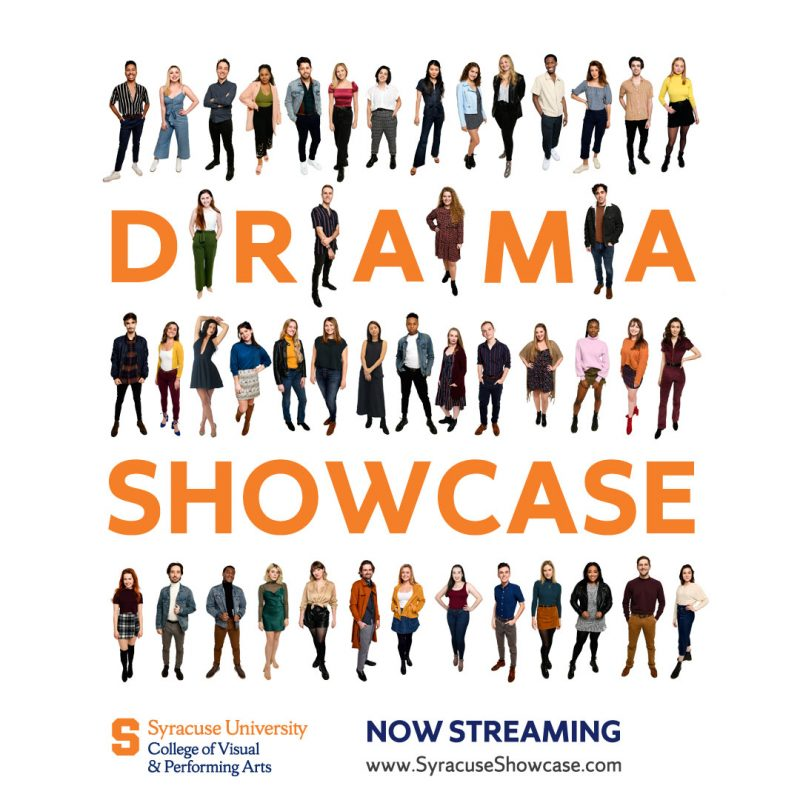 Drama Showcase Logo and Poster with Student Photos