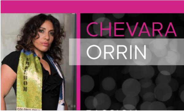 Image of guest speaker, Chevara Orrin.