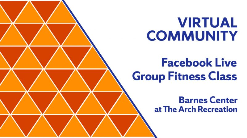 Facebook Live Group Fitness Class
