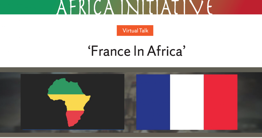 French flag and pan-african colors.