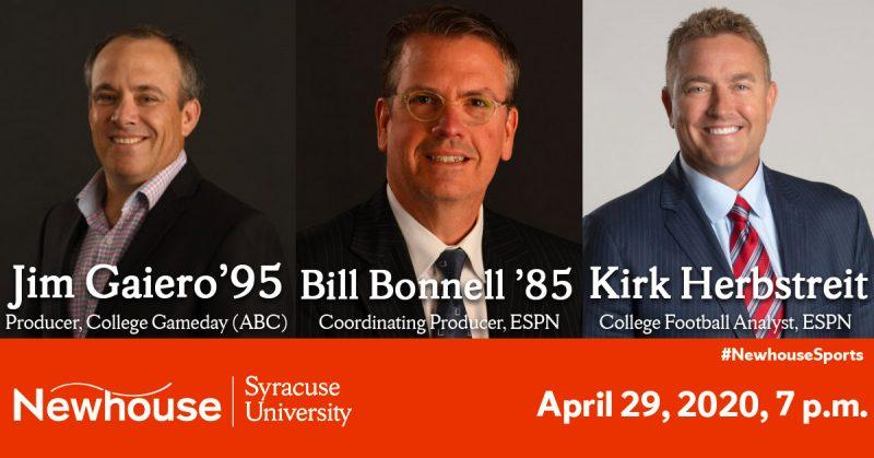 Jim Gaiero, Bill Bonnell, Kirk Herbstreit