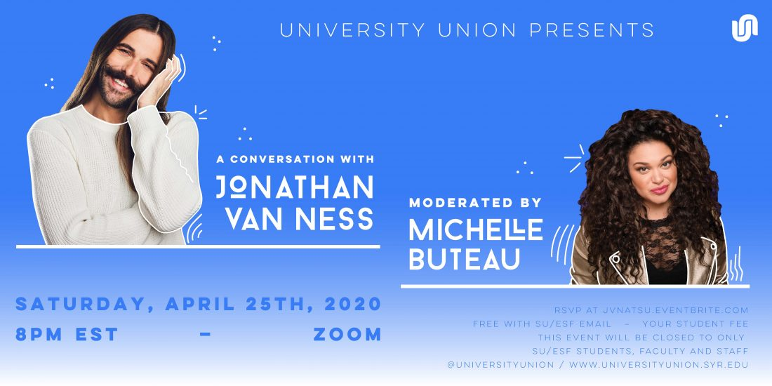 A conversation with Jonathan Van Ness Moderated by Michelle Buteau