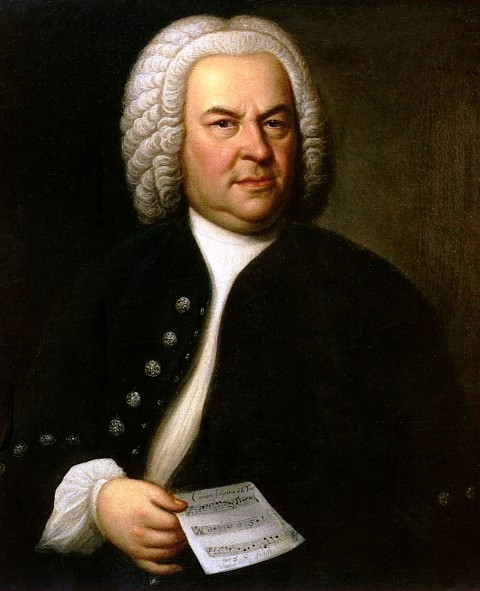 portrait of J. S. Bach