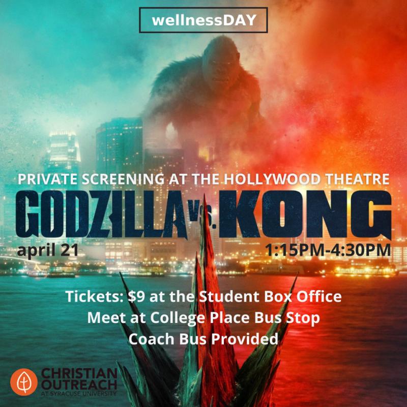 Godzilla vs King Kong movie screening