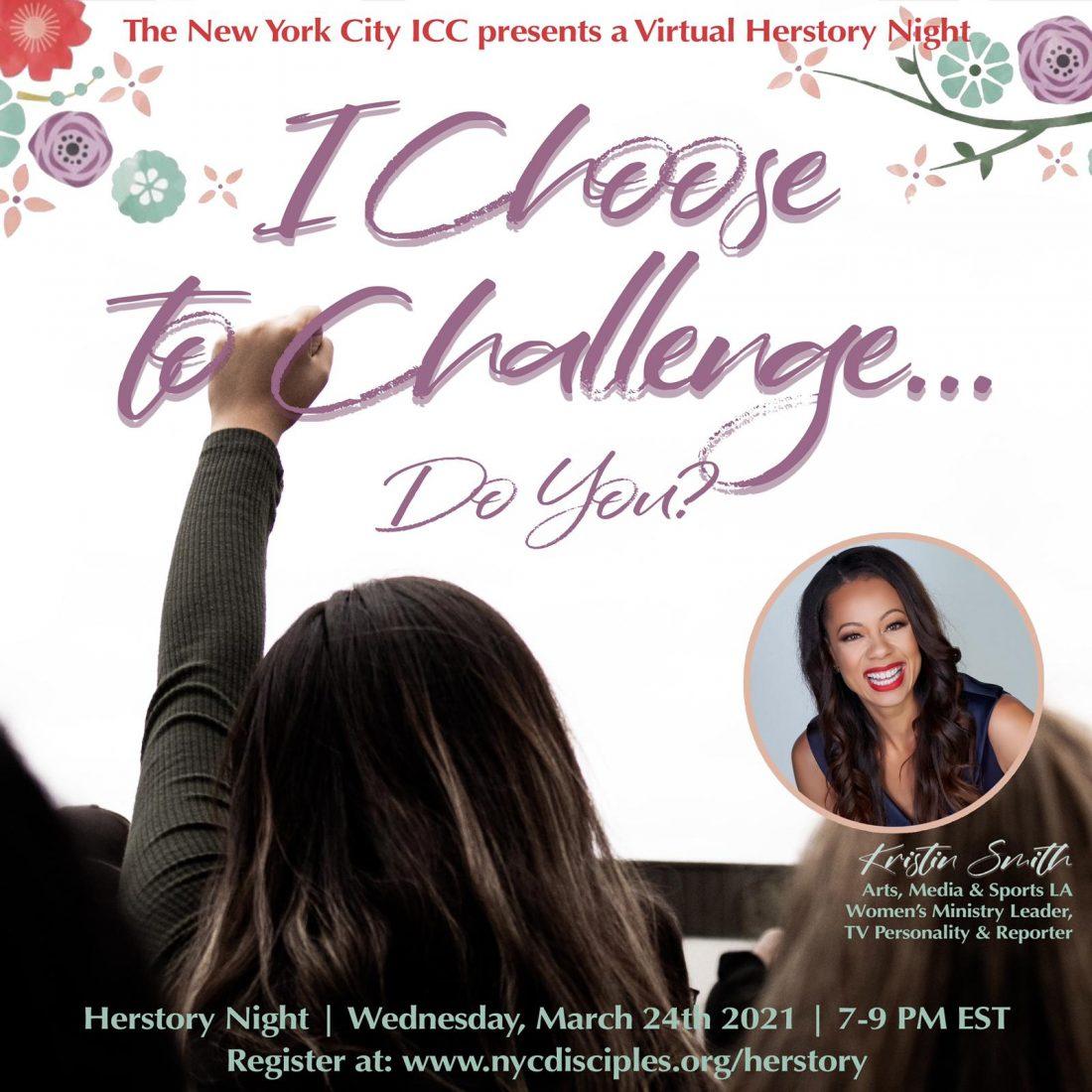 Virtual Herstory Night graphic