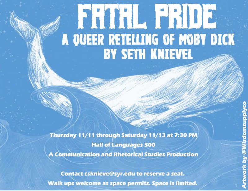 Fatal Pride A Queer Retelling of Moby Dick by Seth Knievel