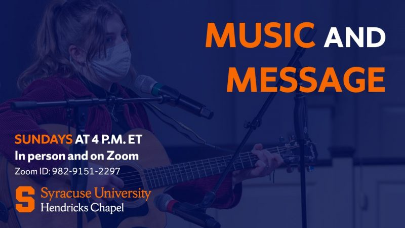 Music and Message Fall 2021