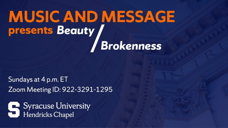 Music and Message presents Beauty/Brokenness