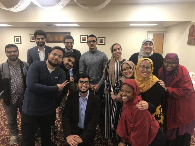 Students in Muslim Student Association
