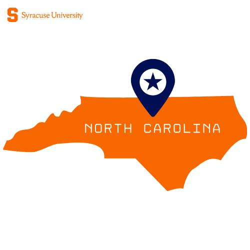Outline of North Carolina