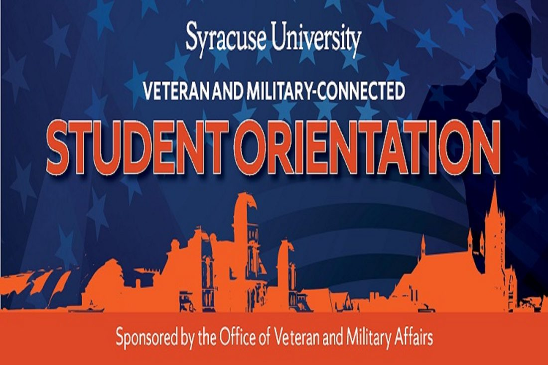 Veteran and Military Connected Student Orientation