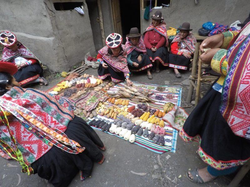 Quechua seed keepers, Peru