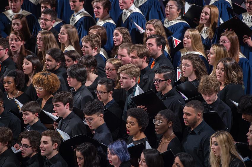 Choir at Syracuse University