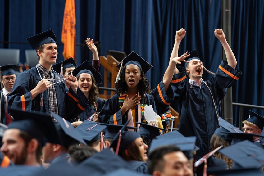 Graduating VPA students