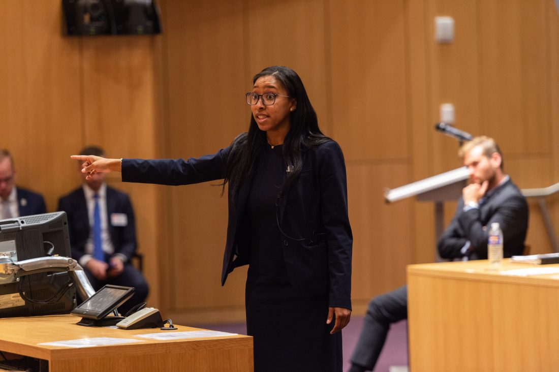 College of Law trial competition