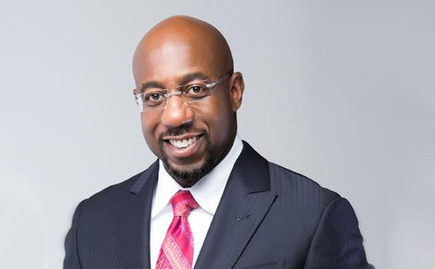 Headshot of Rev. Raphael Warnock
