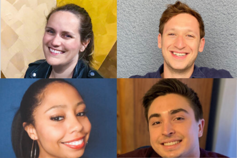 Alison Murphy, Max Gredinger,  Lyndsey Lombard, Rico Pedraza