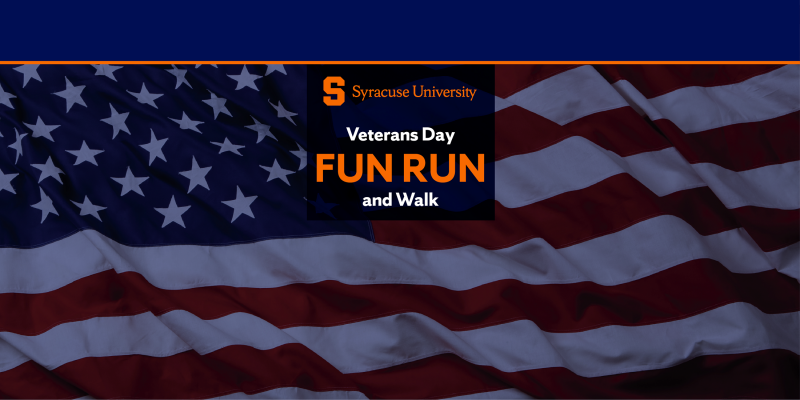 Syracuse University Veterans Day Fun Run and Walk