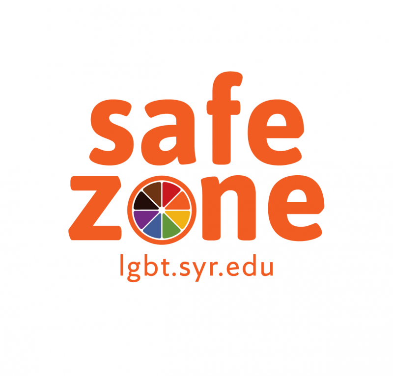 Logo for Safe Zone trainings. The word