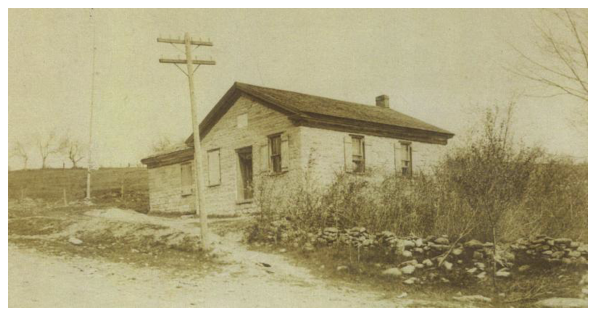 Photo of 1849 schoolhouse