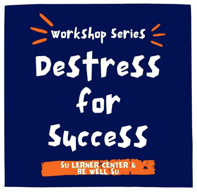 destress for success promotional image