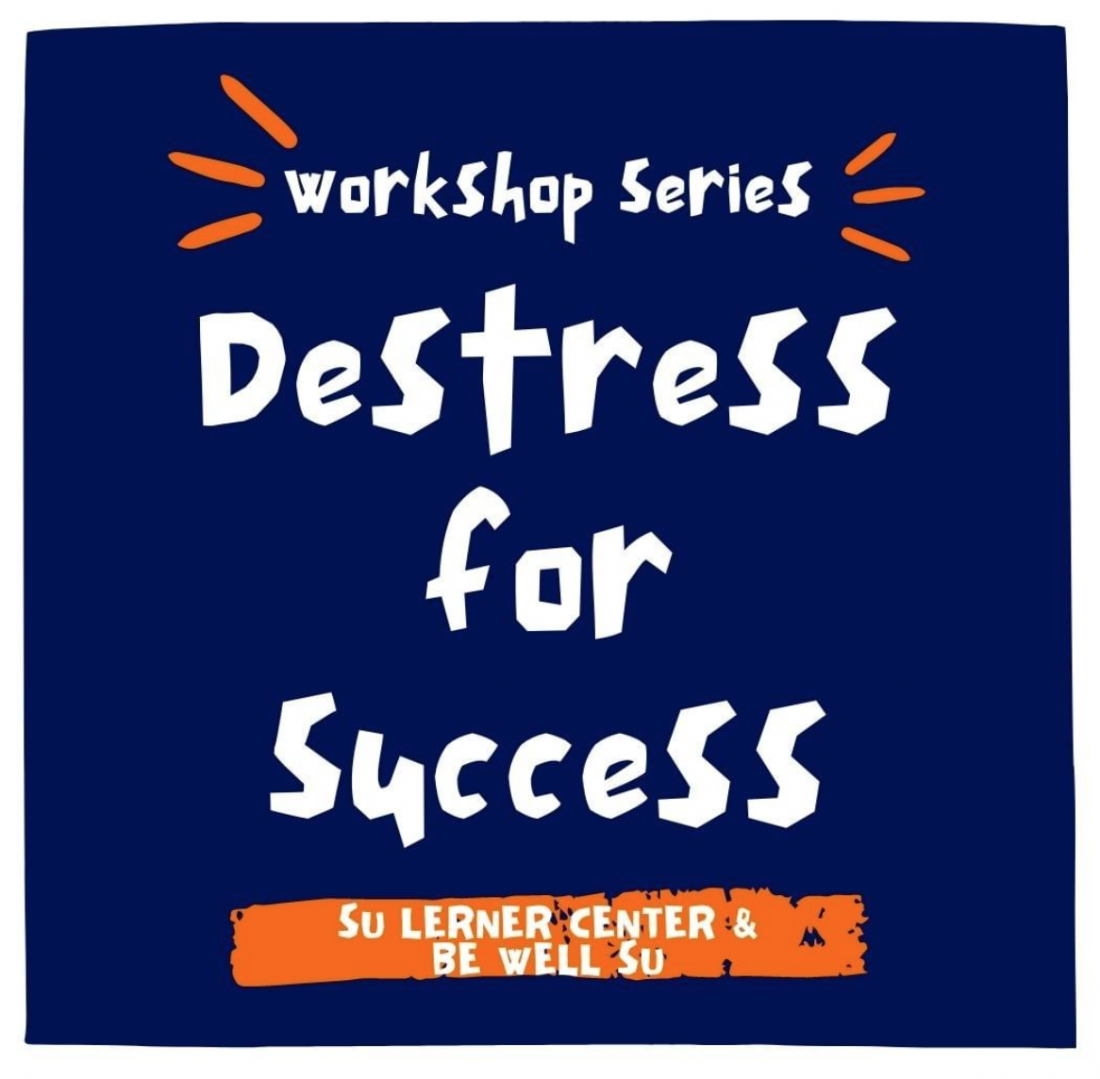 destress for success promotional image