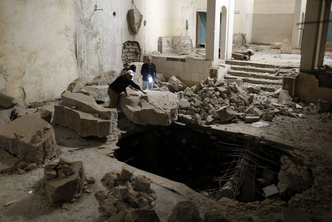 Cultural site in Mosul