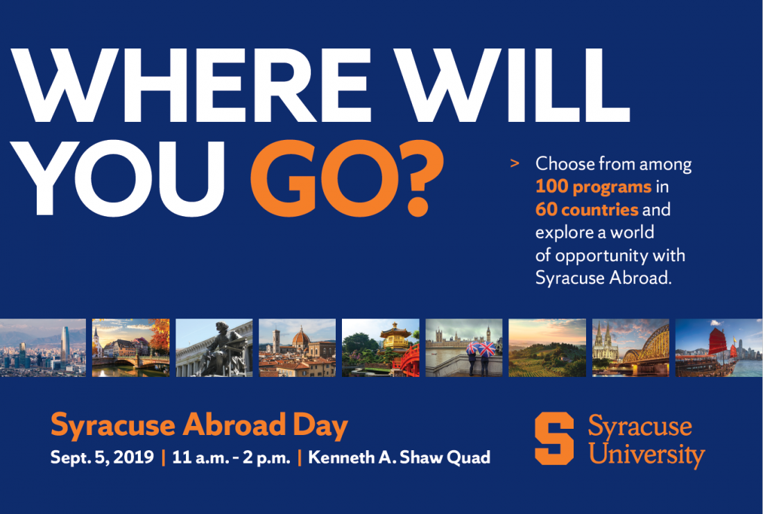 Syracuse Abroad Day