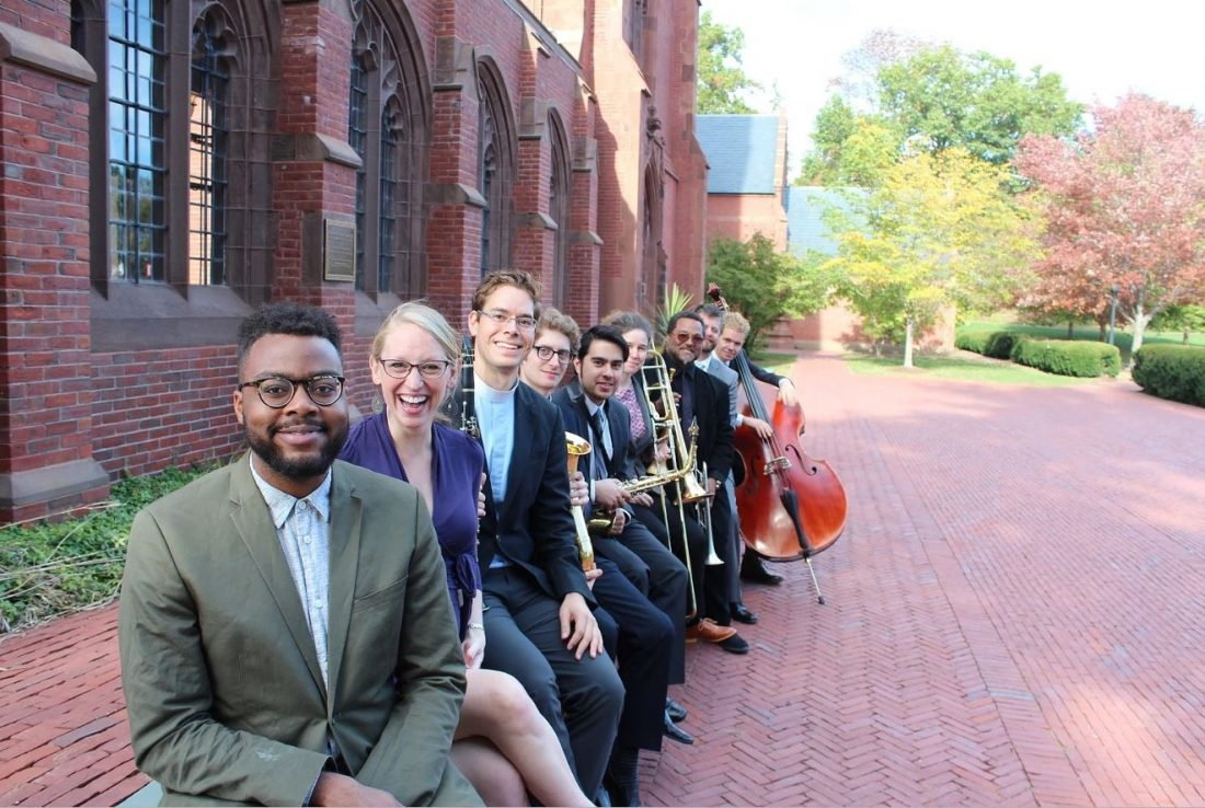 Members of the Theodicy Jazz Collective