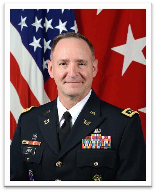Lt. Gen. Charles Pede