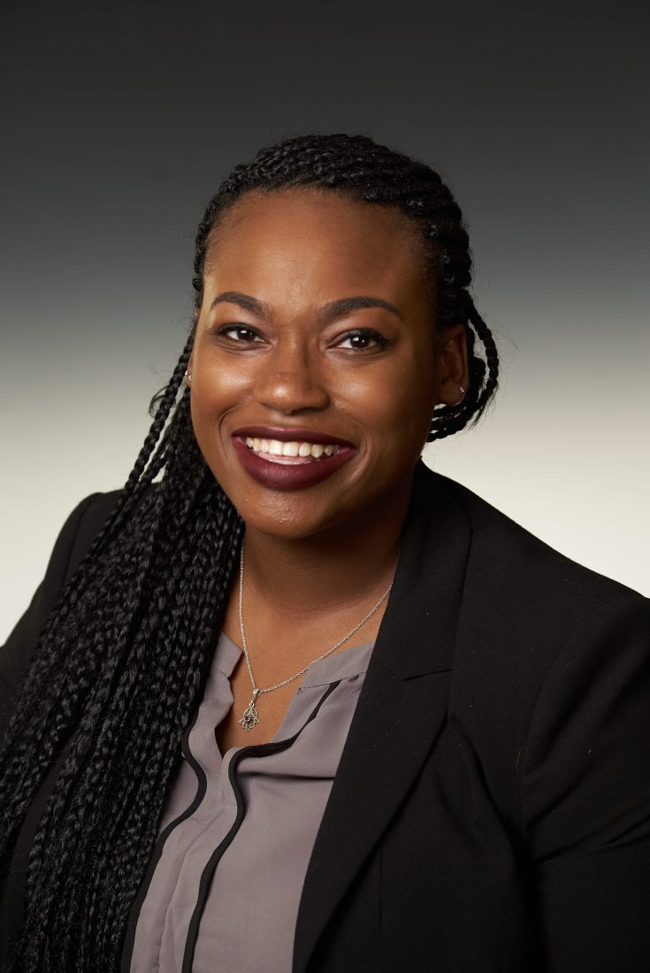 Zerlina Elyse Bartholomew is a dual master's degree candidate in Public Administration and International Relations at The Maxwell School