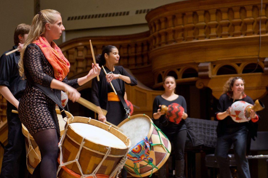 Brazilian Ensemble performing