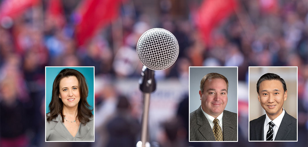 Virtual event panelists: Tracy Barash, Scott Lathrop, Eunkyu Lee