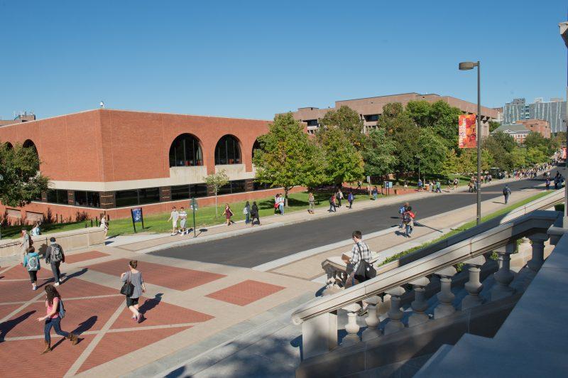 Schine Student Center.