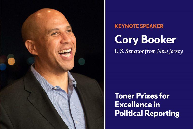 Cory Booker Toner Prize