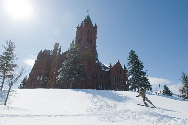 Crouse in winter.