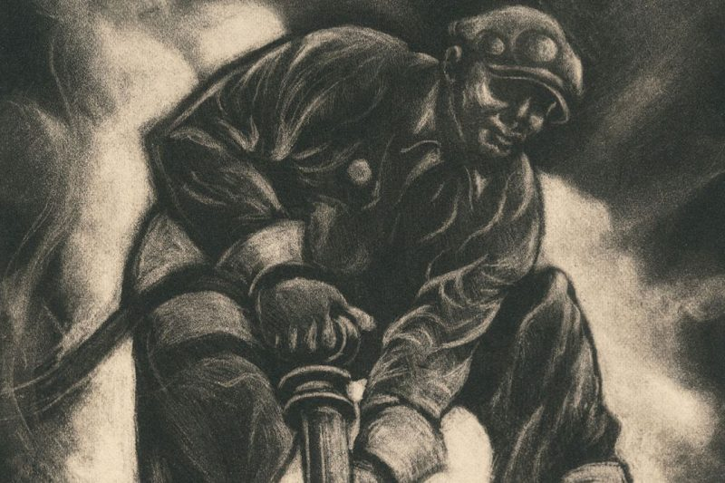 """Defense Worker"" by Dox Thrash, 1941"