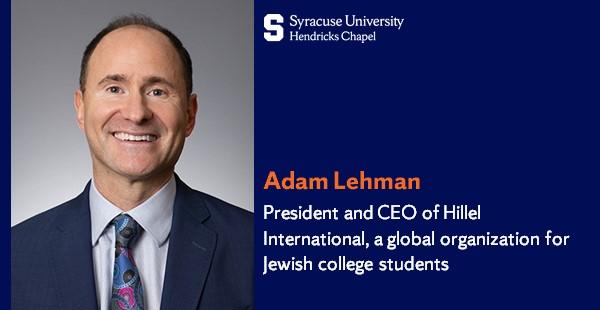 Adam Lehman headshot and description