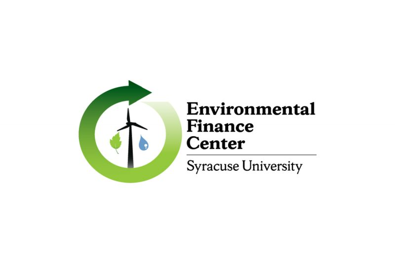 Environmental finance center graphic. Click to view event